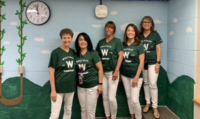 photo of Wolftrap instructional assistants